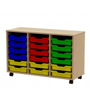 Tray storage trolley 18 trays