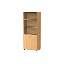 Cupboard 5 compartments low doors 189 cm