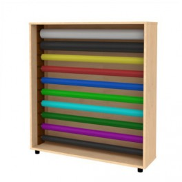 Paper roll storage unit
