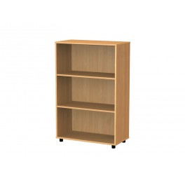 Bookcase 3 compartments 122 cm
