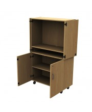 Audio-visual cupboard - TV + DVD