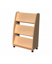 Children double sided book storage