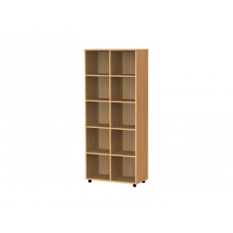Cubby hole bookcase 10 cubby holes 189 cm